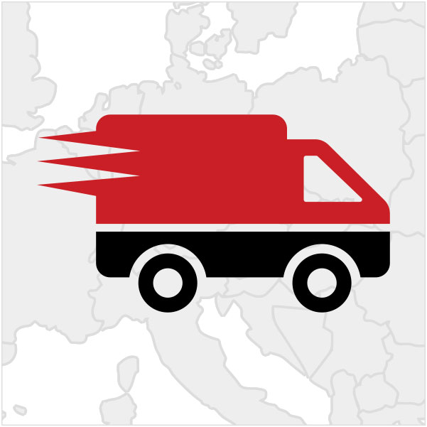 Deutschlandweiter Kurier- und Lieferdienst, Nahverkehr und Fernverkehr, Nationale und Internationale Transporte